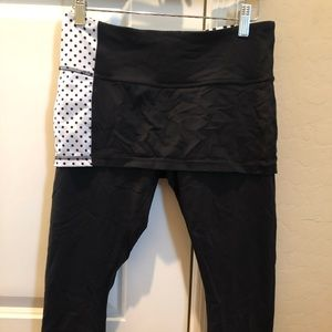 Lululemon skirted capris
